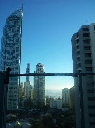 Artique Surfers Paradise: View from second bedroom