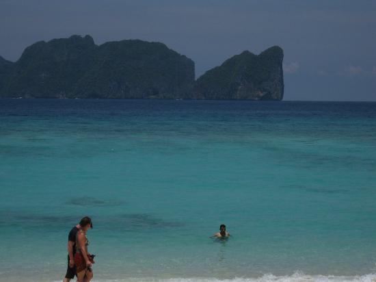 Phi Phi Paradise Pearl Resort: View from room