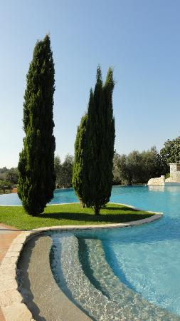 La Pecora Ladra: Vista piscina