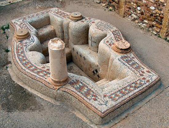 Subaytilah, Tunisia: The Superb Byzantine Mosiac Bath