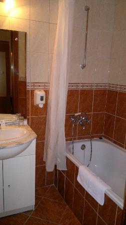 Hotel Ferihegy: Bathroom