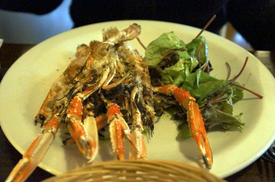 Coast Restaurant: Char-grilled Langoustines (starter) £8.95