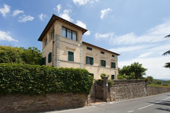 Villa Cristina: Vista facciata