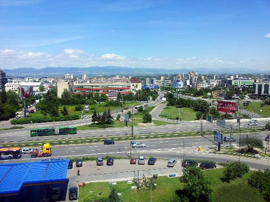 Metropolitan Hotel Sofia: View from Room