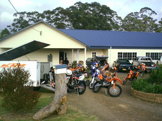 Wootton Guest House B&B: biker friendly with nearby forests