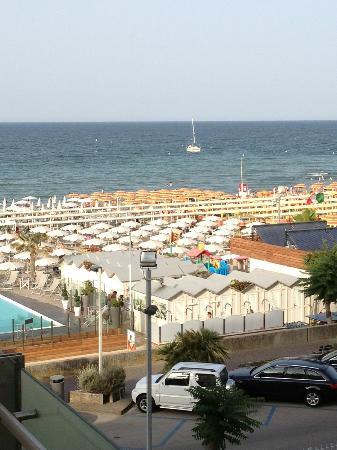 Hotel Michelangelo : Vista dal balcone della camera