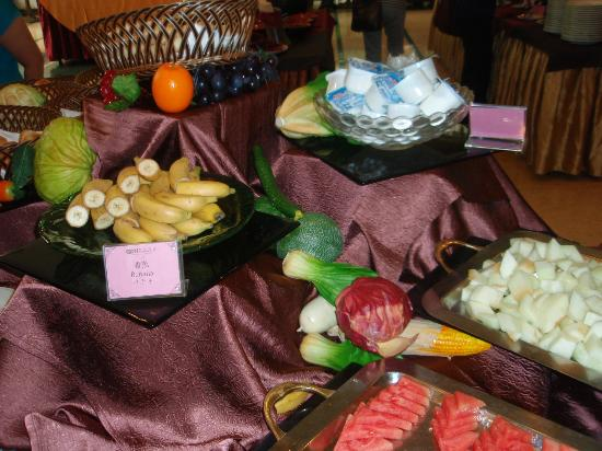 Guang Dong Hotel: 食材①