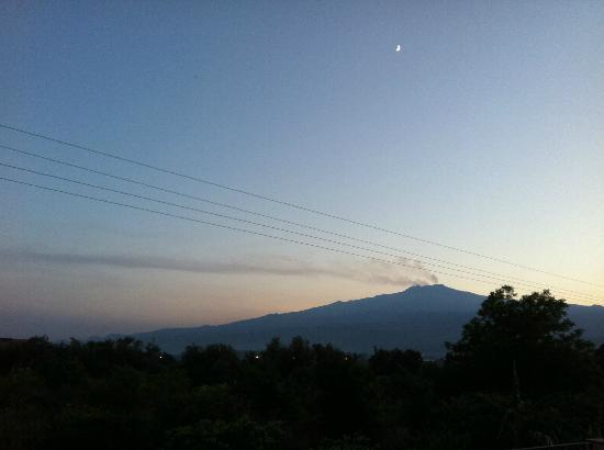 Agriturismo Marino: Aussicht vom Schlafziimer