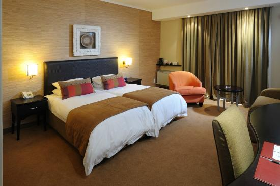 Paxton Hotel: Standard twinbedded room