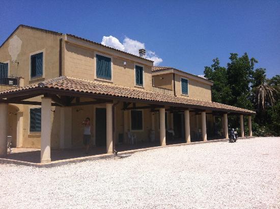 Agriturismo Marino: Aussenansicht