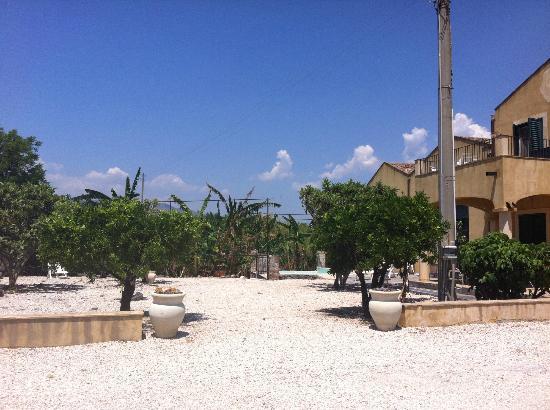 Agriturismo Marino: Garten / Vorplatz