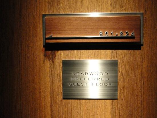 Sheraton Miyako Hotel Tokyo: SPG floor