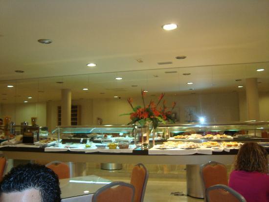 Hotel Suances: buffet