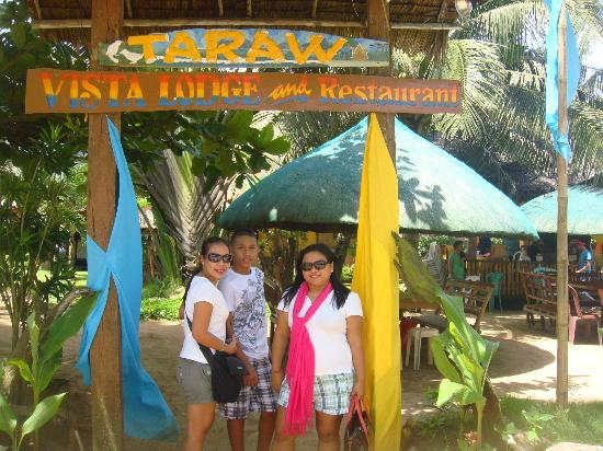Taraw Vista Lodge & Restaurant: the entrance