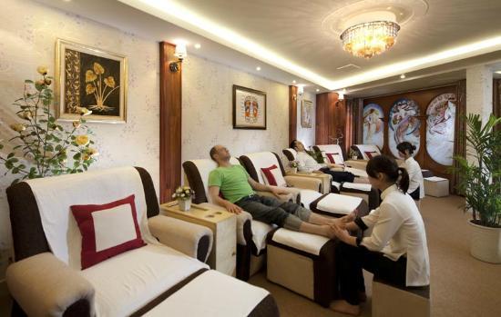 Santa Barbara Hotel: Foots Massage