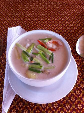 Seaside Cottages & Restaurant: Thaisoup