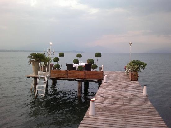 Ristorante Esplanade: posizione incantevole