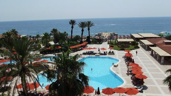 Akka Alinda Hotel: odanın manzarası