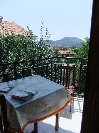 Villa Turk Apartments: Balcony