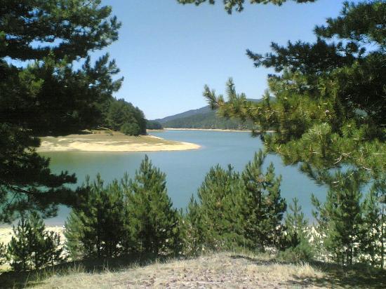 San Giovanni in Fiore, Italie : Lago Ampollino