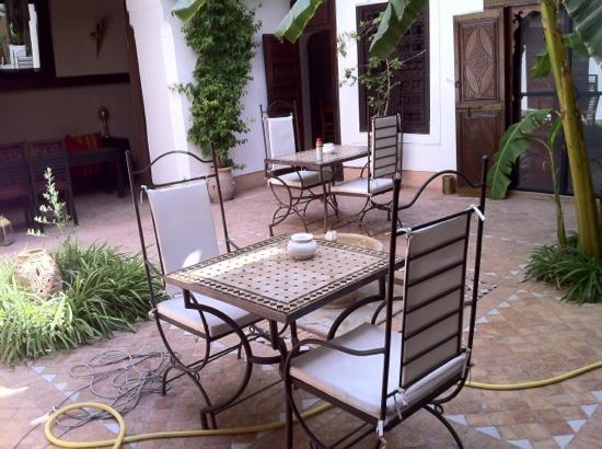 Dar Balthazar : patio