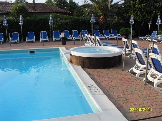 Hotel Delle Mimose :                   Pool area