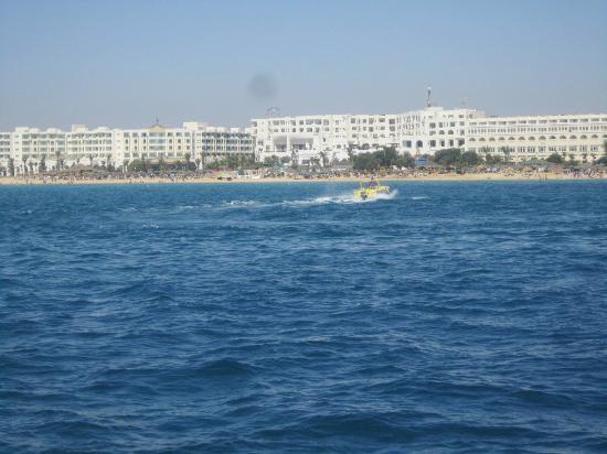 Hotel Safa : vue de la mer