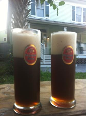 The Londoner Bed & Breakfast: delicious beer mix