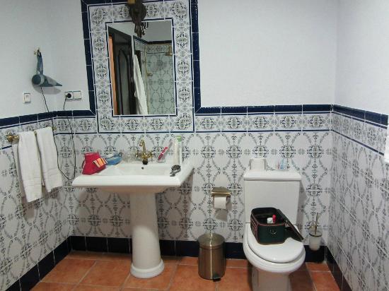 Hotel El Poeta de Ronda: Baño habitación nº 11 