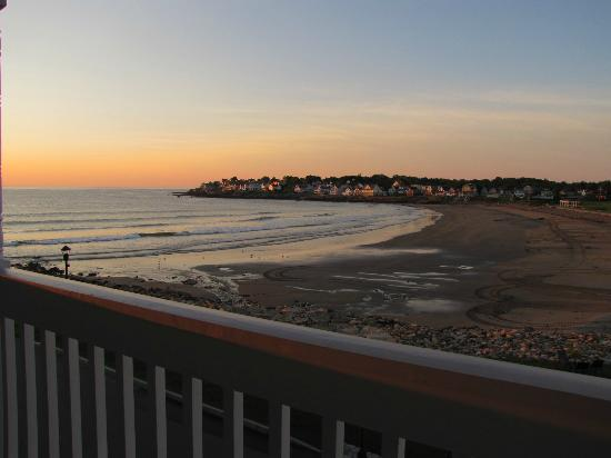 Union Bluff Hotel: york beach from balcony