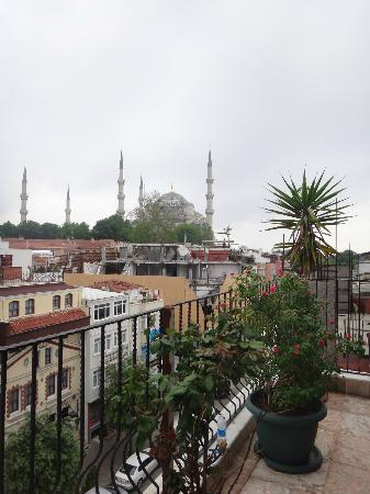 Abella Hotel: Голубая мечеть