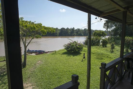 Osman's Homestay: View from porch