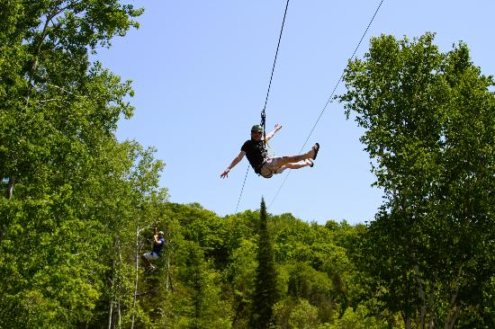 Wildwood Rush Zip Line Canopy Tour