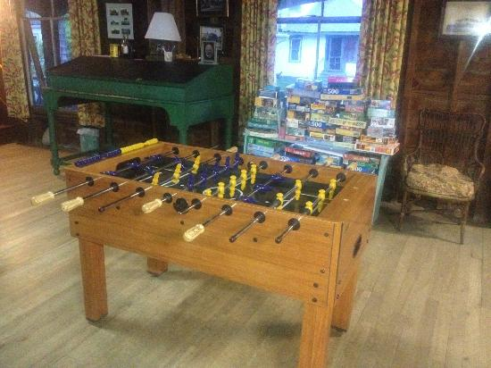 The 8th Maine: New Foosball Table