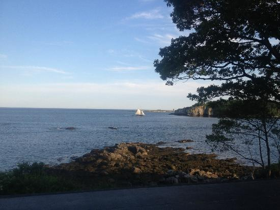 The 8th Maine: Headed to Port and into the Sunset