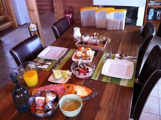 Alpine Comfort: Frühstück