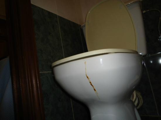 Hostal Pretoria : bagno