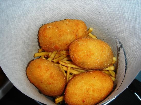 Bobo restaurant : croquetas