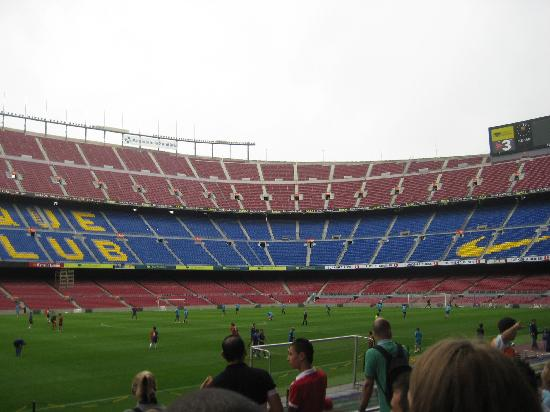 Their school practicing picture of camp nou barcelona tripadvisor