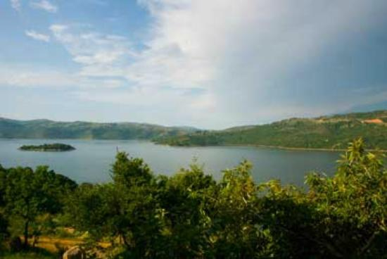 Piggs Peak, Swaziland: View of Maguga dam