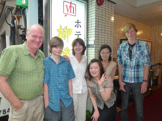 Hotel Yanagibashi: Customer & us
