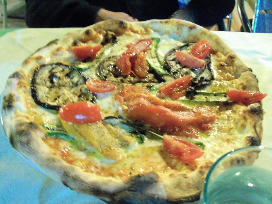 Albergo Ristorante Da Beppone: Pizza vegetariana