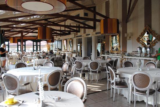 Hotel Columbia Wellness & SPA: Ristorante panoramico