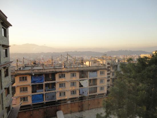 Hotel Tibet International: View from hotel