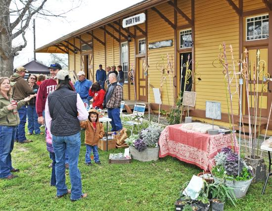 Burton Heritage Society: Come to Burton the first Saturday of the month, March through December for Farmer's Market