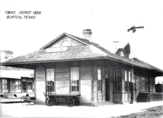 Burton Heritage Society: PIcture of the Depot in 1939