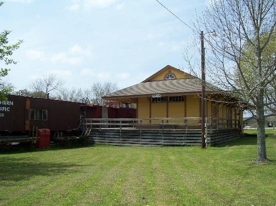 Burton Heritage Society: Historic Railroad Depot built in 1898 after first was destroyed by fire