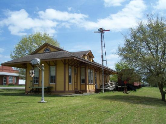 Burton, TX: Lots of wonderful Railroad memorabilia in our museum so make plans to visit us!