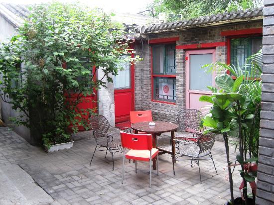 Beijing 161 Lama Temple Courtyard Hotel : Back courtyard