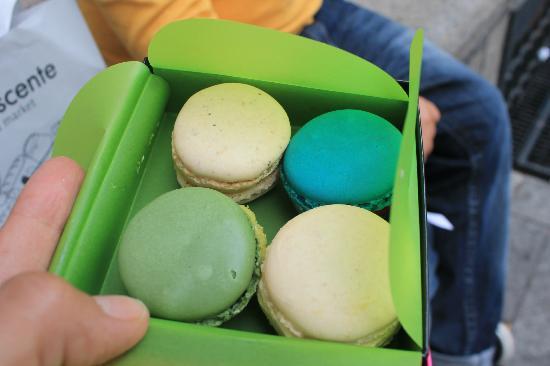 La Rinascente : macarons